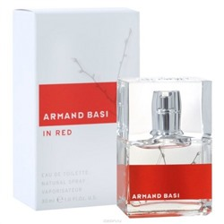 Armand Basi IN RED W edt 30 ml